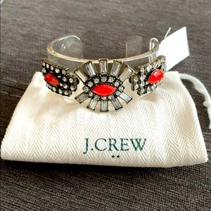 New J. Crew lucite crystal bracelet.